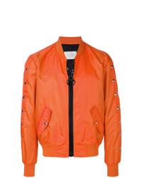 Blouson aviateur orange Route Des Garden