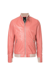 Blouson aviateur rose Loveless