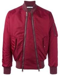 Blouson aviateur rouge Givenchy