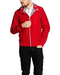 Blouson aviateur rouge Tommy Hilfiger
