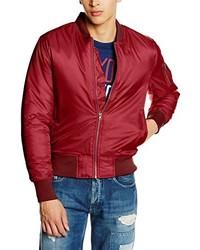 Blouson aviateur rouge Urban Classics