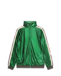 Blouson aviateur vert Gucci