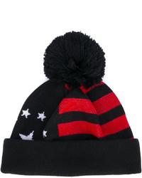 Bonnet à rayures horizontales noir Givenchy