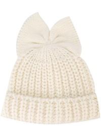 Bonnet blanc Federica Moretti
