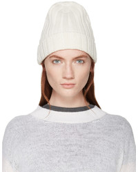 Bonnet blanc MM6 MAISON MARGIELA