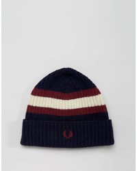 Bonnet bleu marine Fred Perry