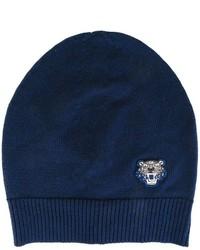 Bonnet bleu marine Kenzo
