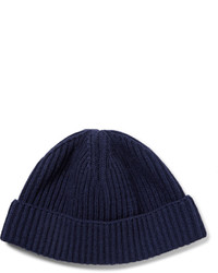 Bonnet bleu marine Lanvin