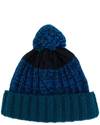 Bonnet bleu marine Paul Smith