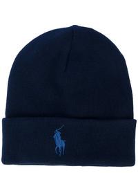 Bonnet bleu marine Polo Ralph Lauren