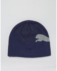 Bonnet bleu marine Puma