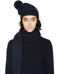 Bonnet bleu marine Stella McCartney