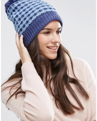 Bonnet bleu Alice Hannah