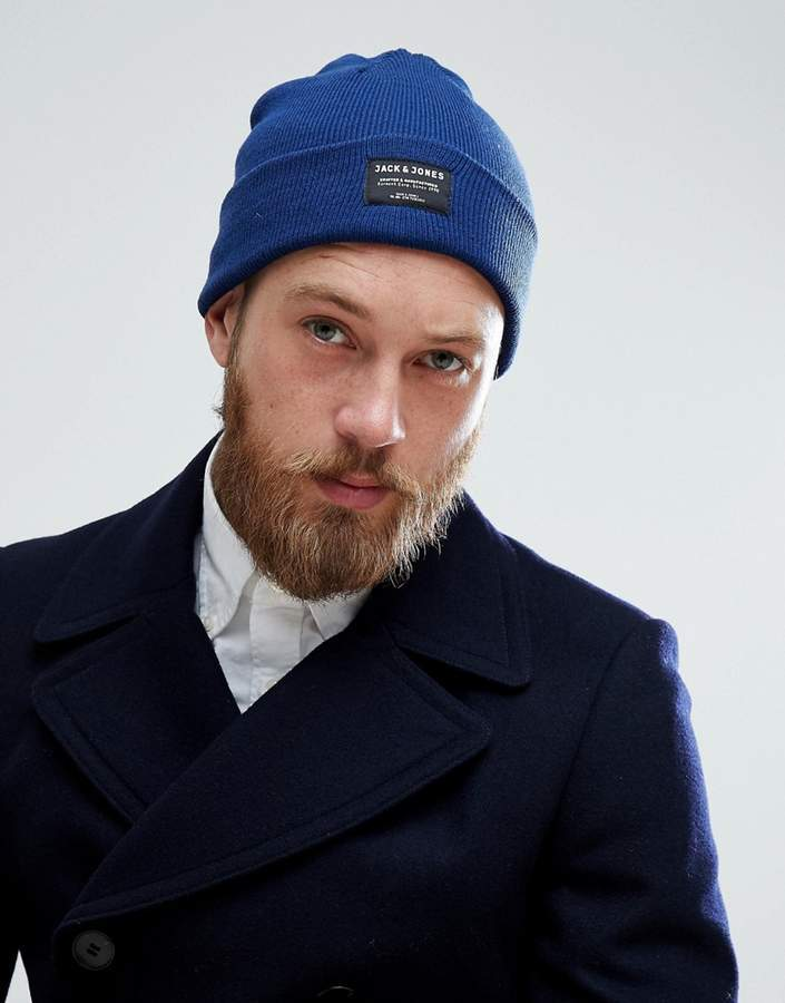 Bonnet bleu Jack and Jones