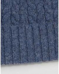Bonnet bleu Asos
