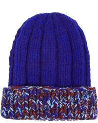 Bonnet bleu Missoni