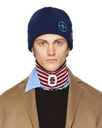 Bonnet bleu Raf Simons