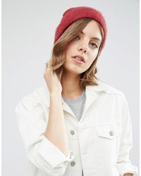 Bonnet bordeaux Asos
