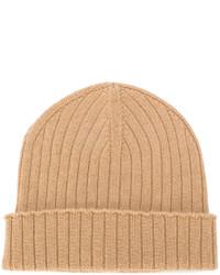 Bonnet brun clair A.P.C.