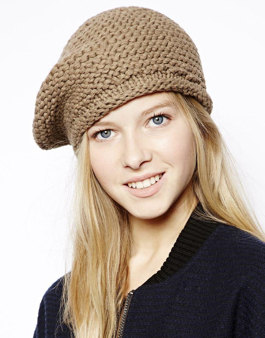 Bonnet brun clair RVCA