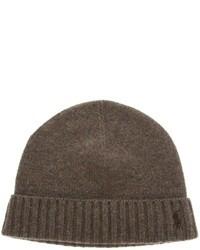 Bonnet brun foncé Ralph Lauren