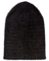 Bonnet duveteux noir