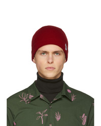Bonnet en tricot bordeaux Ps By Paul Smith