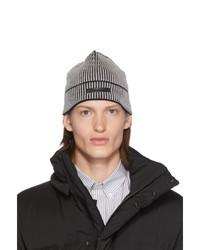 Bonnet en tricot gris foncé Givenchy