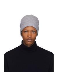 Bonnet en tricot gris Mackage