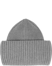 Bonnet en tricot gris Stella McCartney