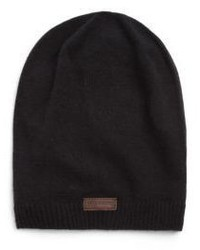 Bonnet en tricot noir