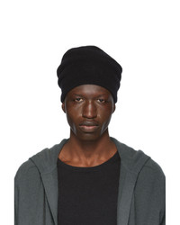 Bonnet en tricot noir Frenckenberger