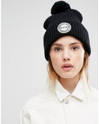 Bonnet en tricot noir Herschel