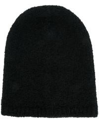 Bonnet en tricot noir Laneus