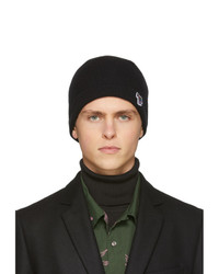 Bonnet en tricot noir Ps By Paul Smith