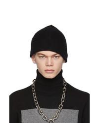 Bonnet en tricot noir Random Identities