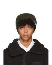 Bonnet en tricot olive VISVIM