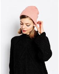 Bonnet en tricot rose Hat Attack