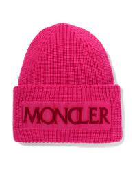 Bonnet fuchsia Moncler