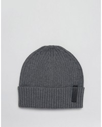 Bonnet gris foncé Calvin Klein
