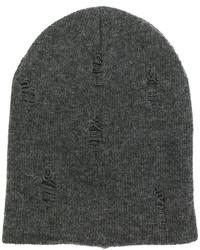 Bonnet gris foncé Dondup