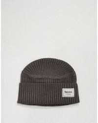 Bonnet gris foncé Timberland
