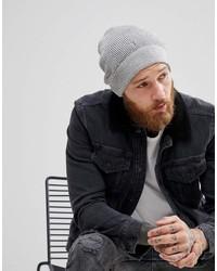 Bonnet gris AllSaints