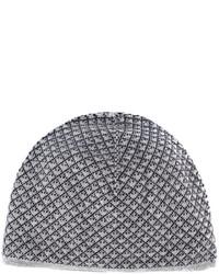 Bonnet gris Giorgio Armani