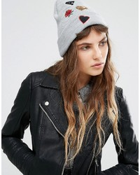 Bonnet gris Miss Selfridge