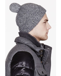 Bonnet gris Moncler