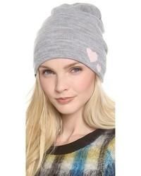 Bonnet gris Plush