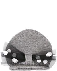 Bonnet gris Simonetta