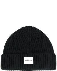 Bonnet imprimé noir Dondup