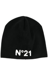 Bonnet imprimé noir No.21